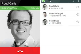 В WhatsApp появилась функция голосовых звонков