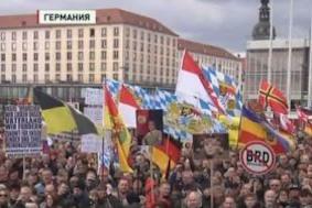 Дрезден: протесты с новой силой