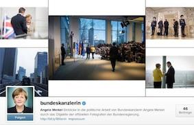 Ангела Меркель в Instagram