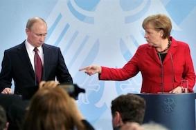 Немцы попросили Ангелу Меркель помириться с Россией
