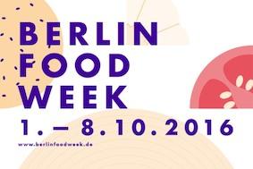 Berlin Food Week: очень вкусный фестиваль!