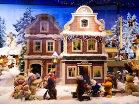 Окна в волшебный мир Рождества