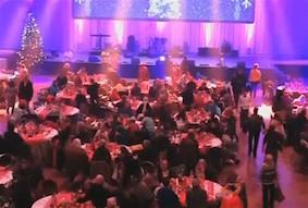 Благотворительный ужин для немецких бездомных