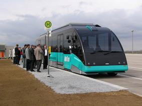 В Германии появятся беспилотные автобусы