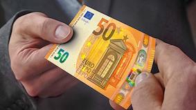 Новая купюра 50 евро