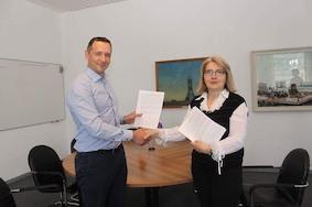 Подписание Договора о сотрудничестве между РДНК в Берлине и МГУ имени М.В.Ломоносова