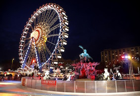 А вы знаете, где летает Дед Мороз в Берлине?
