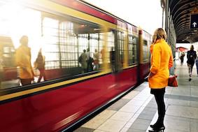 Столичные поезда S-Bahn зачастили