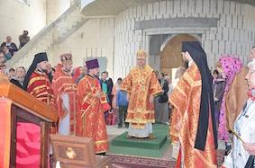 Праздник Святого Георгия-Победоносца в Гётшендорфе