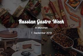 Russian Gastro Week в Мюнхене