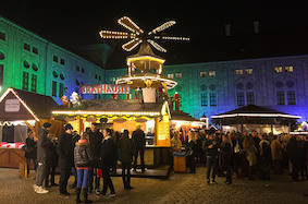 Рождественские рынки Мюнхена: часть первая