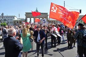 Праздничные массовые мероприятия в Берлине в День Победы 9 мая