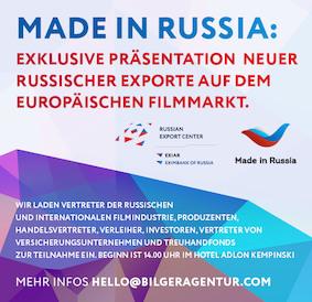 Präsentation in Berlin: Russische Produzenten stellen Ihre neuen Filmen vor