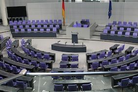 Бундестаг: депутаты на каникулах. Работы в Рейхстаге продолжаются