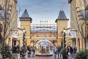 Роскошный новогодний шопинг в Wertheim Village