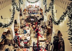 Новый год в баварском ресторане Donisl