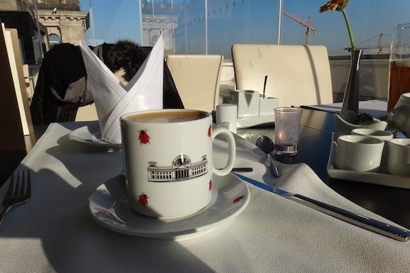 Завтрак в Рейхстаге