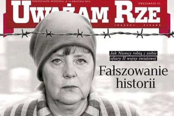 Ангела Меркель — узница концентрационного лагеря