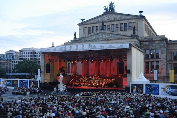 За кулисами Classic Open Air Berlin 2013