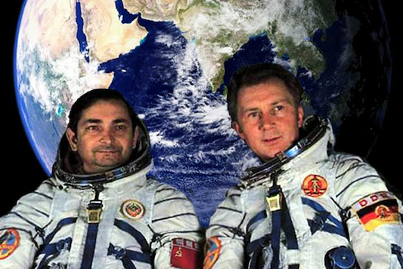 Встреча с космонавтом!