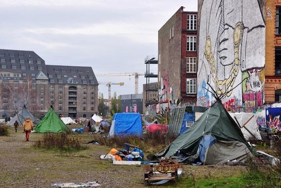Модные бездомные Берлина