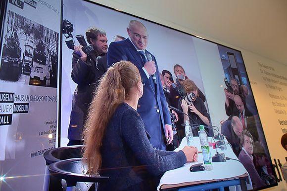 Михаил Ходорковский в Берлине: 36 часов на свободе