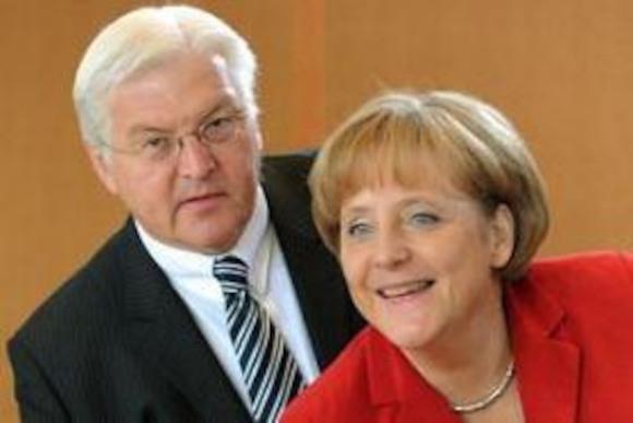 Штайнмайер популярнее Меркель