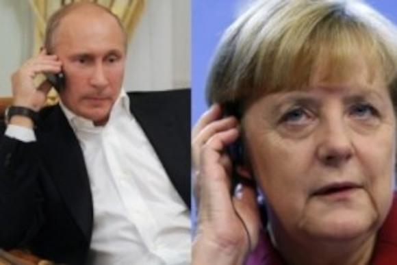 Меркель опять звонит Путину