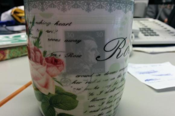 Чашки с портретом Гитлера
