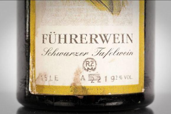 Бутылка вина для Гитлера продается на аукционе