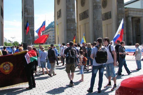 «За мир, против фашизма!» - глазами мобильного репортёра