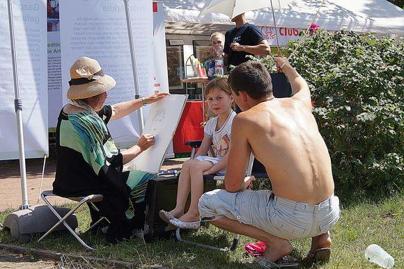 Портреты и пейзажи Deutsch-Russische Festtage