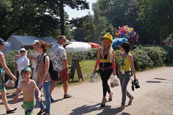 Германо-российскому Фестивалю и жара нипочем
