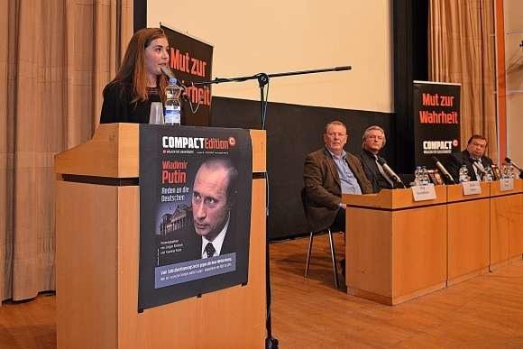 """Время говорить правду - презентация книги """"Wladimir Putin. Reden an die Deutschen"""""""