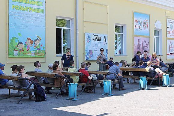 Скаутский поезд посетил Новосибирск