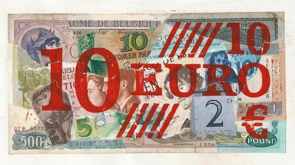Художественный взгляд на 10 евро
