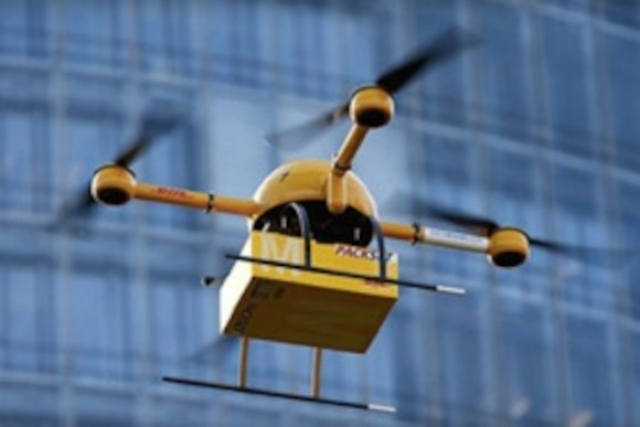 DHL: беспилотная доставка по Германии
