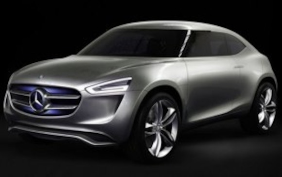 Внедорожник G-Code от Mercedes-Benz