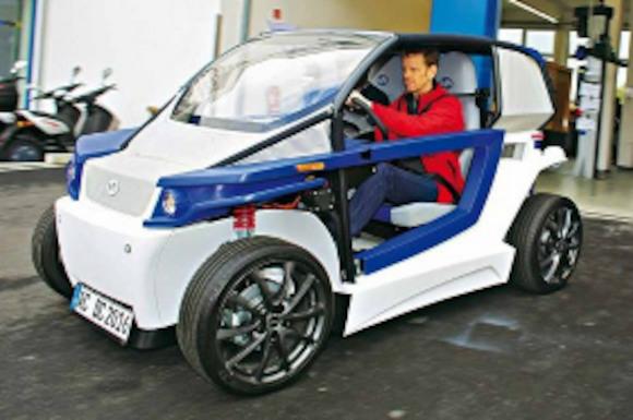 Немецкие инженеры распечатали электромобиль