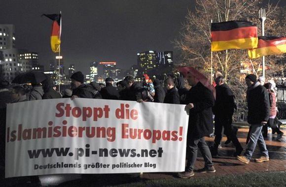 Дрезден и Дюссельдорф против исламизации Европы