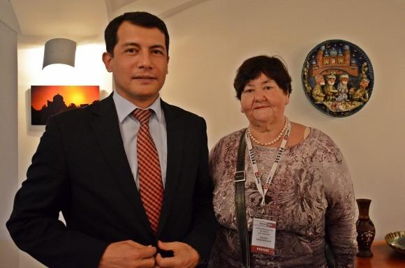 Брифинг в Посольстве Узбекистана в Берлине