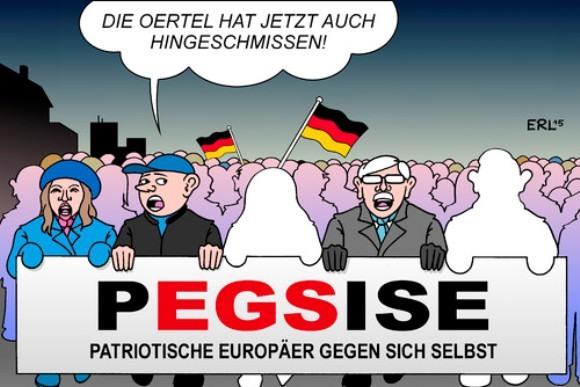 Карикатура на Путина признана лучшей политической карикатурой Германии