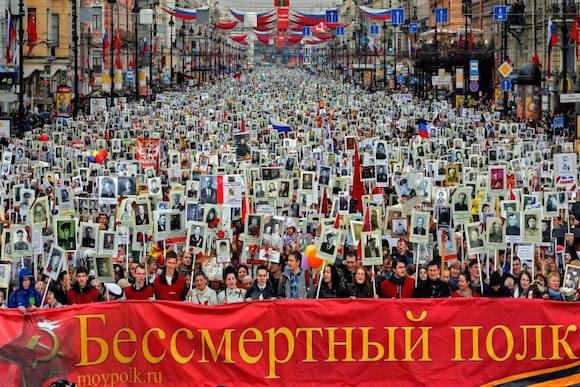 Бессмертный полк: патриотическая инициатива в Берлине
