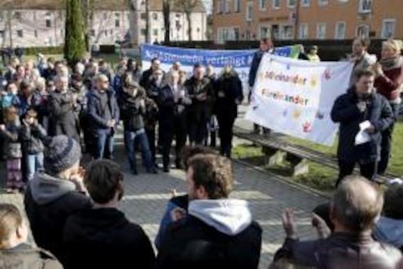 Германия: протесты против праворадикалов