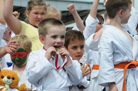 На ипподроме Карлсхорст: турнир по карате