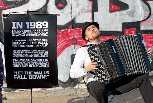 Я, Айдар Гайнуллин играю, ради свободы и мира во всем мире