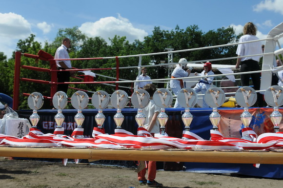 Турнир начинающих каратистов спортивного клуба