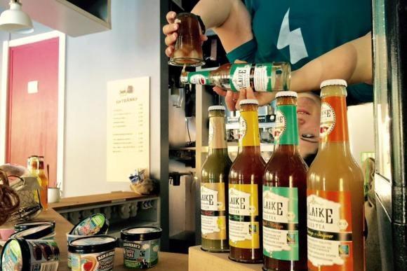 Интересное в Германии: кафе вверх дном