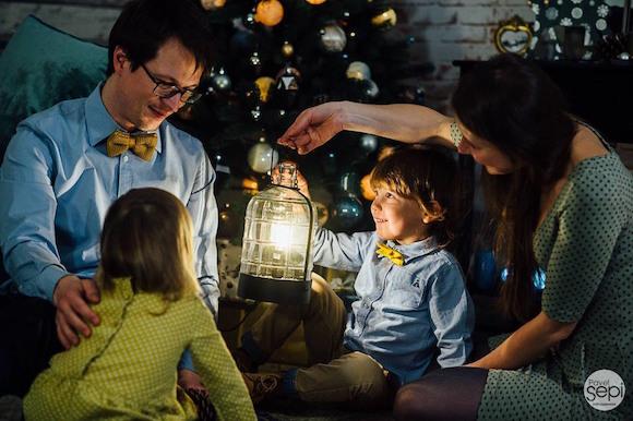 Берлин: рождественская фотосессия для больших и маленьких волшебников