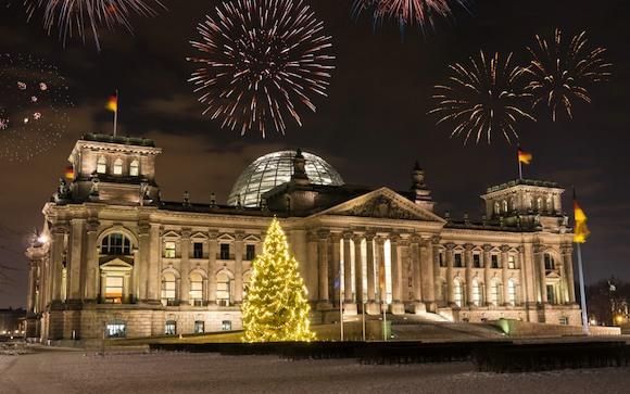 Новогодняя ночь в Берлине: безопасность на улице